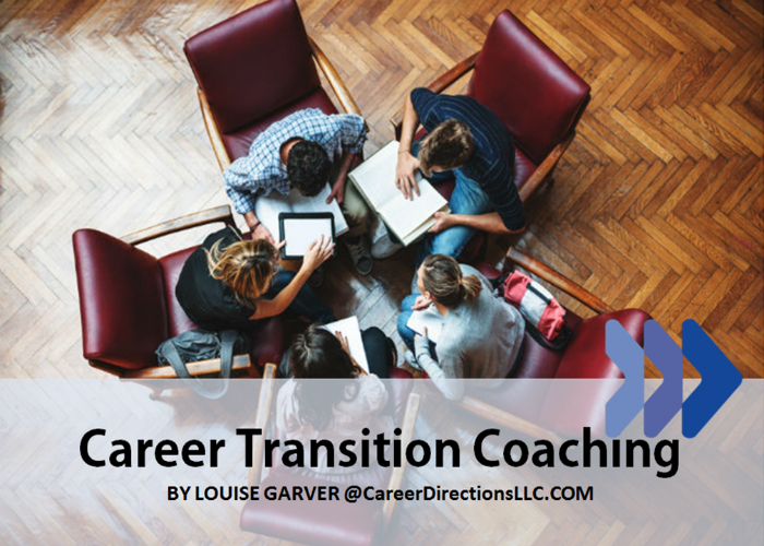 "Coaching For Professionals Seeking a New Career Path or ""Second Act"" Career"