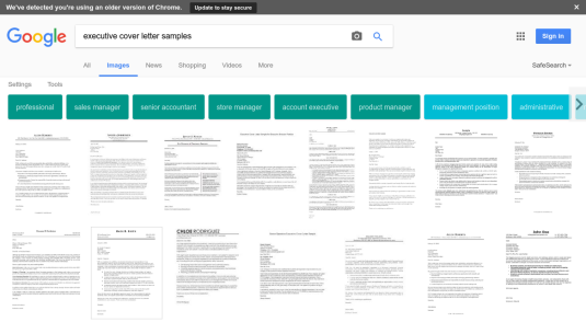 Google Images Offers An Array Of Executive Cover Letter Samples That You  Might Find Helpful.