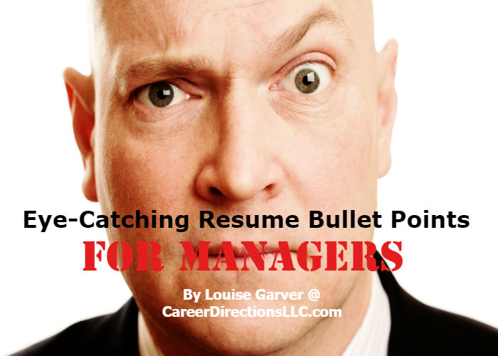 Writing Achievement Based Bullet Points For Your Resume. Writing Eye  Catching ...
